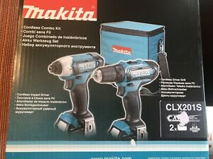 Makita CLX201S Cordless Combo Set - Brand New