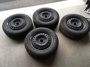 Winter tire/rim - Honda HRV