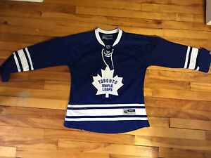 Official Toronto Maple Leafs youth sized jersey
