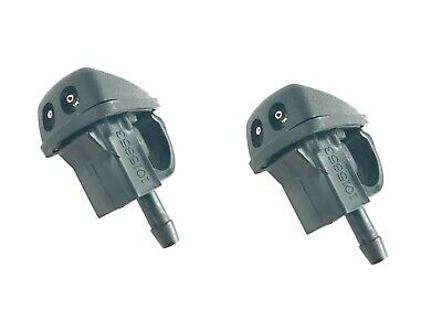 Land Rover Discovery II Windshield Washer Jet Hood Sprayers Set of 2 Genuine New