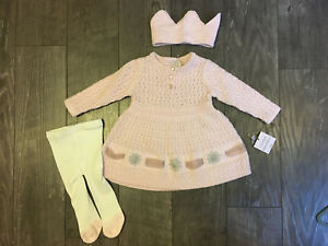 NWT Dress with crown and tights