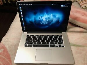 MacBook Pro 15' Mid 2015 10/10 mint