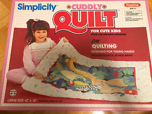 Cuddly Quilt - Make Your Own Quilt!