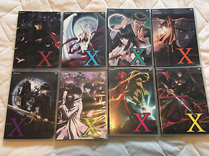 X/1999 Complete DVD Video collection