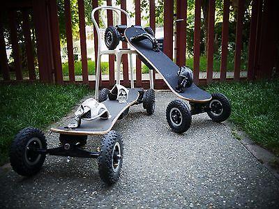 "Electric Off Road Skateboard dual motors, 3300W , w/ Upgrades ""LAST ONE"""