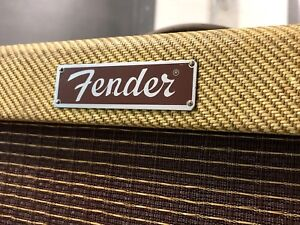 U.S.A Fender Blues Deville 410 Tweed with Footswitch