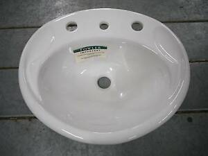 RRP.$445 New Caroma Fowler Tasman Deluxe Rimming Vanity Basin Melbourne CBD Melbourne City Preview