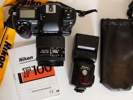 Nikon f100 with battery pack & Nikon speed light Darlinghurst Inner Sydney Preview