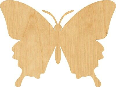 Butterfly #0180 Laser Cut Out Wood Shape Craft Supply - - Wood Butterfly