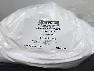 Magnesium Carbonate Anhydrous Light Powder 500g