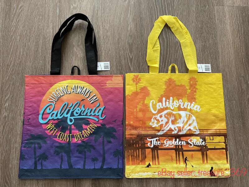 2 Bags - Ralphs Reusable Bags - California Collection