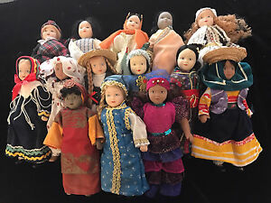 Set of Dolls from Around the World Ballajura Swan Area Preview