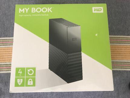 WD My Book 4TB External Hard Drive Brand New