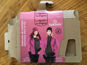Kokoala coat extension maternity