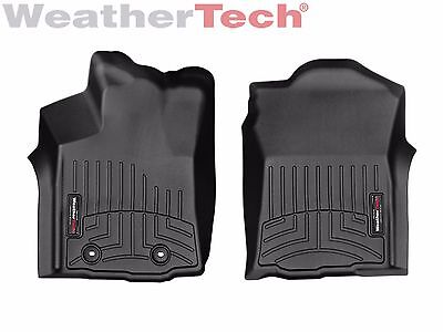 Weathertech Floor Mats Floorliner For Toyota Tacoma   2016 2017   1St Row  Black