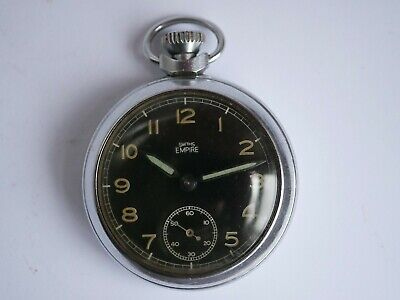 VINTAGE SMITHS EMPIRE MILITARY POCKET WATCH