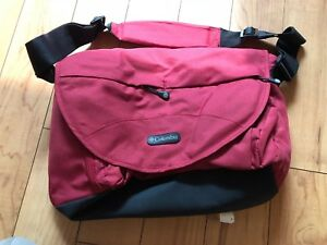 Columbia Outfitter Messenger Diaper Bag - Red