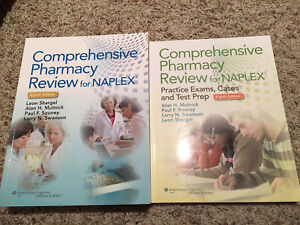 Comprehensive Pharmacy Review for Naplex with Practice Exam Book