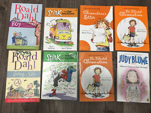 Children's Chapter Books - Roald Dahl, Stink, Clementine, Blume