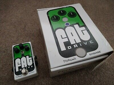 Pigtronix Fat Drive Overdrive Guitar Effects Pedal