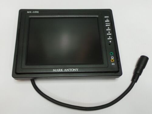"""Mark Antony MK-HR6 6"""" Inch LCD Screen Display w/ S-Audio Connector Cable - Nice!"""