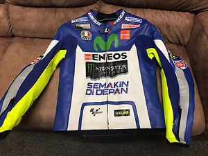 MINT!Dainese Rossi Replica Leather Jacket Size 50/60(XL)