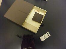 Authentic Louis Vuitton Money Clip Unisex Box Dust Bag Brighton Bayside Area Preview