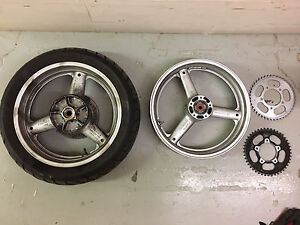 SV650 wheels and tire
