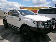 2012 Ford Ranger PX XL 3.2L 4x4 Dual Cab Chassis Kallangur Pine Rivers Area Preview
