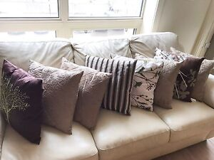 Couch PILLOWS ONLY $25