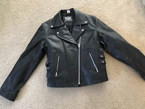 Ladies Motorcycle Leather Jacket