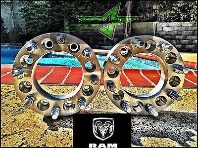 2X 8 Lug Wheel Spacers 1994-2010 Dodge Ram 2500, 3500 Dually | 2 inch HEAVY DUTY