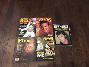 Vintage ELVIS Magazines From The 1970's