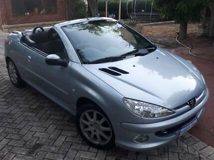 Peugeot 206 CC Convertable Swanbourne Nedlands Area Preview