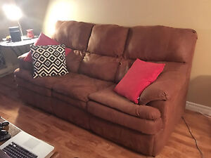 Brown sofa bed quick sale!!