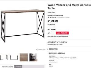COFFEE & CONSOLE TABLES