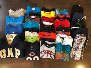 Lot of 5T boy clothing - over 35 items