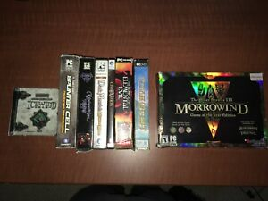 Old Boxed PC games RPG's