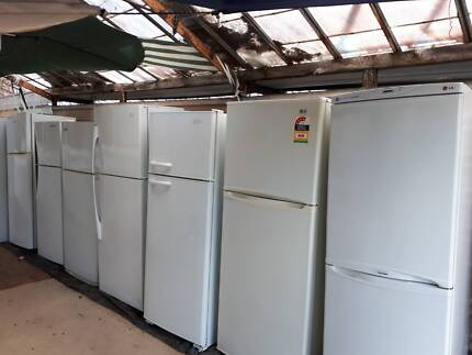 REFRIGERATORS SEVERAL MAKES AND SIZES AVAILABLE