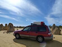 2001 Subaru Forester 4X4 Backpacker Car NEGOTIABLE Sydney City Inner Sydney Preview