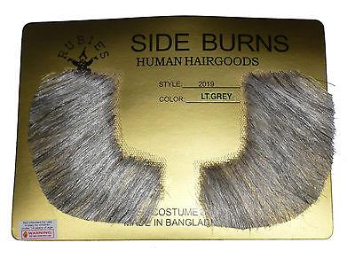 Human Hair Sideburns Pork Chop Victorian Free Adhesive Strips Porkchop 2019 - Porkchop Sideburns