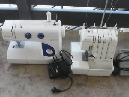 sewing machine & overlocker