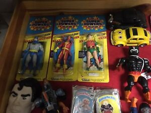 He-man and Super Powers Figures