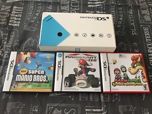 Free Nintendo DSI system with the purchase of 3 Mario games