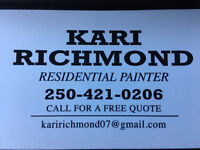 Residential Painter.