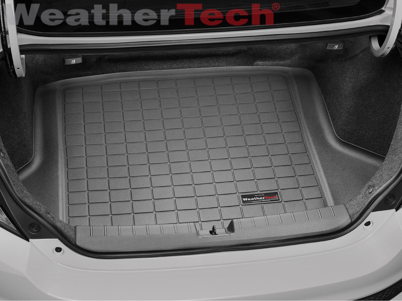 WeatherTech Cargo Liner Trunk Mat for Honda Civic Coupe - 2016-2018 - Black  -