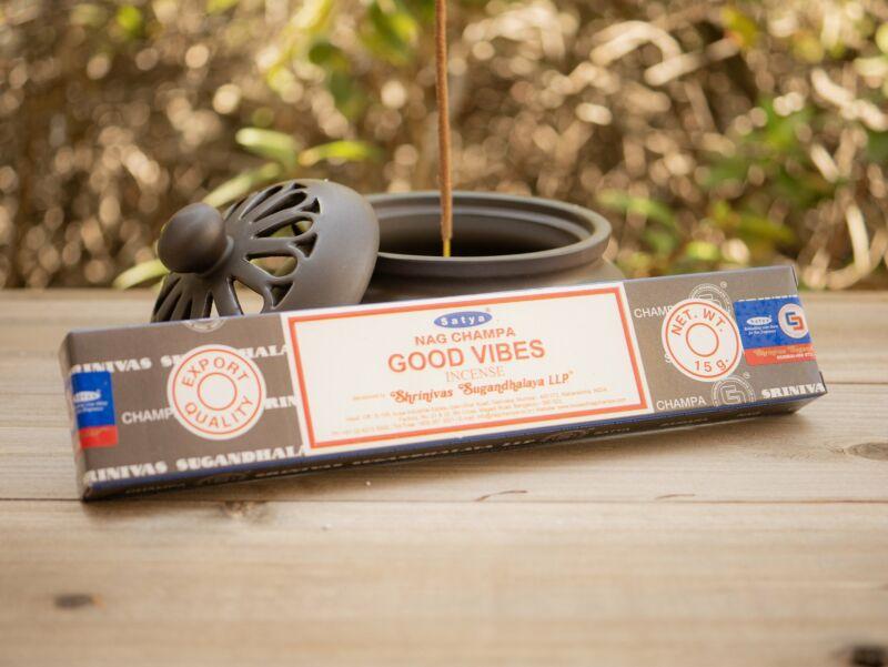 Satya Good Vibes Nag Champa Incense Stick