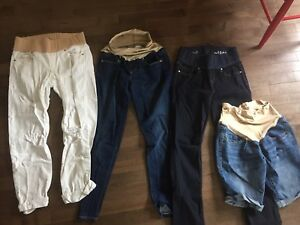 Size 4 Gap maternity jeans $25 for all