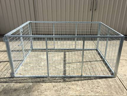 6x4x2 GALVANISED CAGE ONLY - $320