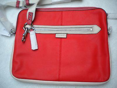 Cram Leather Crossbody 9.7 Lozenge Bag, Ipad/Universal Daisy Spector Orange